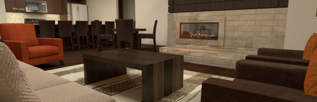 Apartment Fireplace