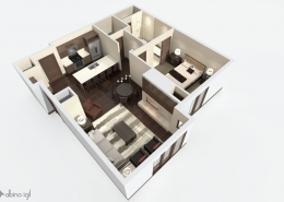 Residential 3D Floorplan